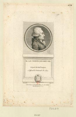 M. le Comte de Dieusie ne a Ancenis en Bretagne le 10 juin 1748 député du bail.e Danjou à l'Assemblée nationale de 1789 : [estampe]