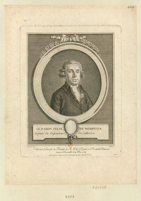 Le  Baron Felix de Wimpffen député du départem.t du Calvados : [estampe]