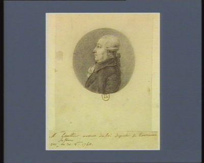 M. Gaultier avocat du Roi député de Touraine né à Tours le 31 8.bre 1740 : [dessin]