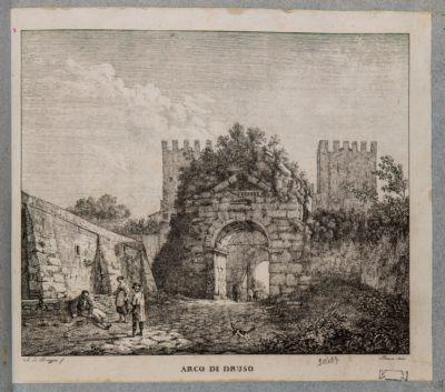 Arco di Druso e porta S. Sebastiano