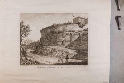 Anfiteatro Castrense visto dall'esterno delle mura
