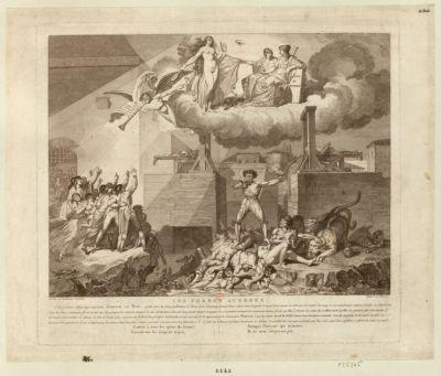 Les  Formes acerbes cette gravure représente Joseph Le Bon... : [estampe]