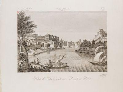 Porto di Ripa Grande, veduta generale da Testaccio