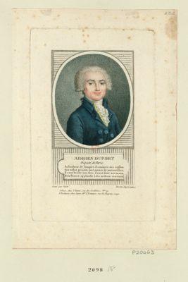 Adrien Duport député de Paris... : [estampe]