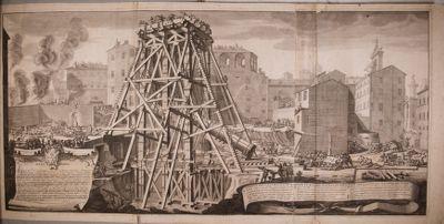Colonna di Antonino Pio, innalzamento
