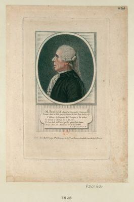 M. Bailly presid.t de l'Assemblée Nationale, nommé maire de Ville par les citoyens de Paris, le 14 juillet 1789... : [estampe]