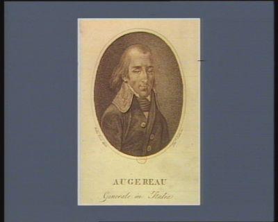 Augereau generale in Italia : [estampe]