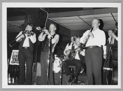 Golden State Jazz Band: Bob Mielke, Ev Farey, Hal Smith, Carl Lunsford, Bill Napier, Hank Bartels