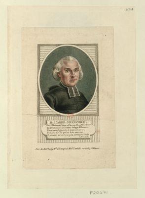 M. l'abbé Grégoire curé D'Emberménil, député de Nancy à l'Assemblée nationale... : [estampe]