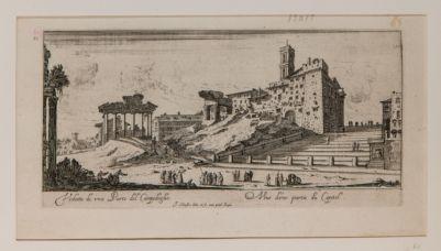 Veduta del Campidoglio e del Clivio Capitolino