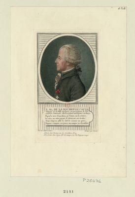 L. Al. de La Rochefoucauld deputé de la ville de Paris, ex-président de l'Assemblée nationale, élu président du départ. de Paris... : [estampe]