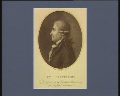 F.ois Barthelemy ambassadeur de la République française près le corps helvétique : [estampe]