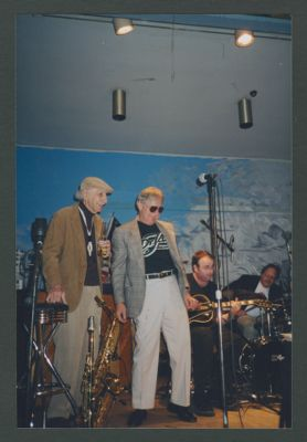 Bob Helm, Leon Oakley, Clint Baker and Hal Smith