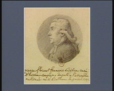 Pierre Florent François Behin curé d'Herrin-Coupigny deputé d'Artois à l'Assemblée nationale né à Béthune le 9 avril 1742 : [dessin]