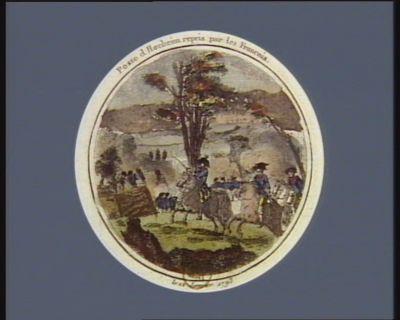 Poste d'Hocheim repris par les Français le 12 janvier 1793 : [estampe]
