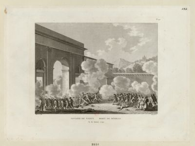 Affaire de Nancy. Mort de Désille le 31 aoust <em>1790</em> : [estampe]