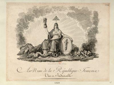 Au nom de la République française une et indivisible [estampe]