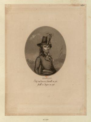 Stofflet chef vendéen né à Lunéville en 1751, fusillé a Angers en 1796 : [estampe]