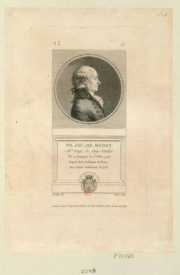 Ph. Jac. de Bengy ch.er seig.r de Puy Vallée né a Bourges le 1.er mai 1743 député de la noblesse de Berry aux Etats généraux de 1789 : [estampe]