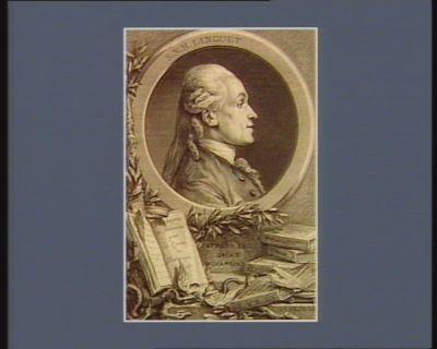 S.N.H. Linguet patrono suo dicat Morangiès : [estampe]