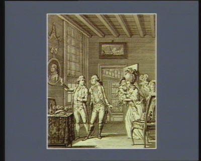 De Mislukte vlugt van Lodewyk den zestienden den 21 Junij, <em>1791</em> : [estampe]