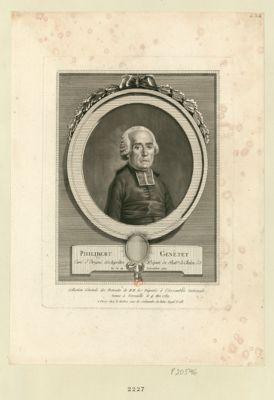 Philibert Genetet curé d'Etrégni, archiprêtre député du bail.ge de Chalon s.S. né le 20 novembre 1727 : [estampe]