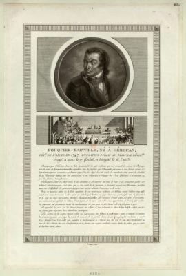 Fouquier-Tainville, né à Hérouan, dép.t <em>de</em> l'Aisne, en 1747 [estampe]