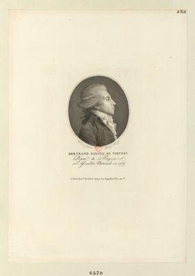 Bertrand Barére de Vieuzac député du Bigorre à l'Assemblée nationale en 1789 : [estampe]