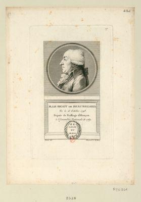 M. le Bigot de Beauregard né le 16 octobre 1748, député du bailliage d'Alençon à l'Assemblée nationale de 1789 : [estampe]