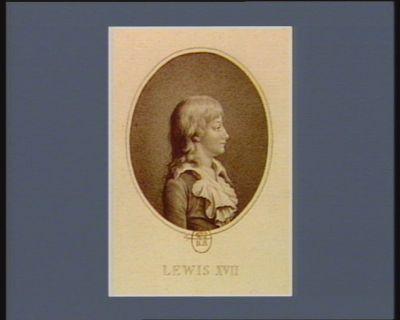 Lewis XVII [estampe]