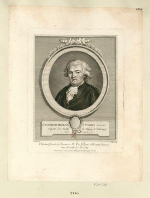 J.n Anthelme Brillat Savarin avocat deputé des baill. de Bugey et Valromey, né le 2 avril 1755 : [estampe]