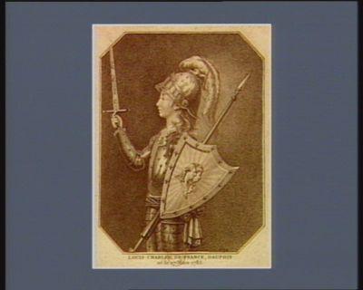 Louis Charles de France, dauphin né le 27 mars 1785 : [estampe]