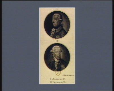 I Joseph II II Léopold II : [estampe]