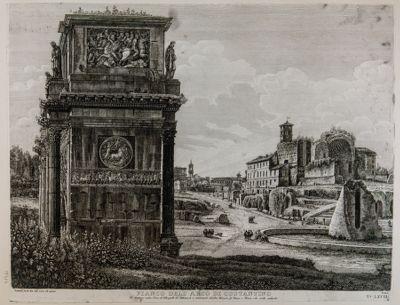 Arco di Costantino, fianco di levante