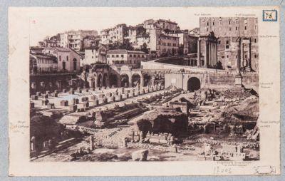 Foro Romano, panorama ovest