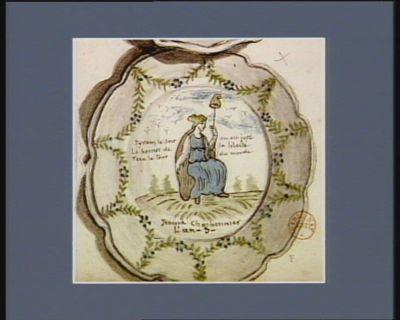 Tyrans le sort en est jeté le bonnet de la liberté fera le tour du monde Jeanne Charbonnier l'an 3 : [dessin]