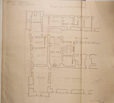 Campidoglio, primo piano del Palazzo Senatorio