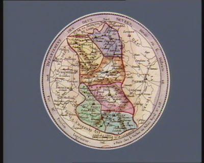 Departement des Deux Sevres divisé en 6 districts : [estampe]