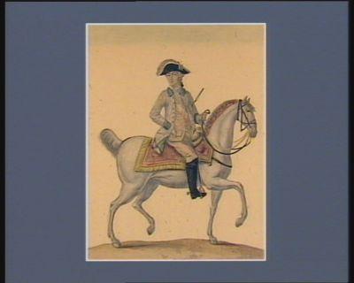 George de Brunswick III , né le 4 juin 1738 roi d'Angleterre et Électeur d'Hanover, le 26 novembre 1760 : [estampe]