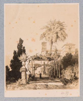 Chiesa di S. Pietro in Vincoli. Giardino annesso al Convento