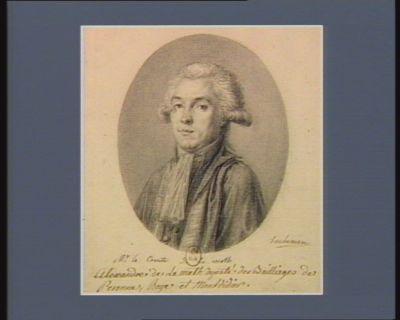 Mr le comte de La Meth Charles de Lameth deputé des bailliages de Peronne, Roye et Montdidier : [dessin]