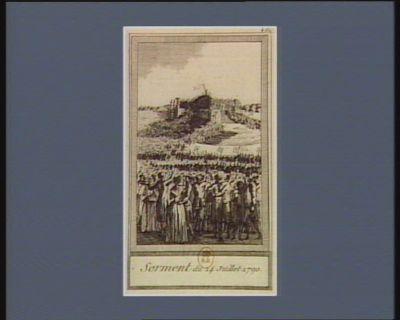 Serment du 14 juillet 1790 [estampe]