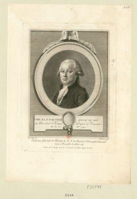 Urb. A.L.F. Gautier, avocat du roi au présidial de Tours député de Touraine ne le 31 8.bre 1740 : [estampe]