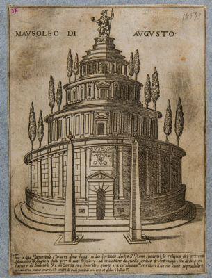 Mausoleo d'Augusto, ricostruzione immaginaria