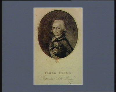 Paolo Primo Imperatore della Russie [estampe]