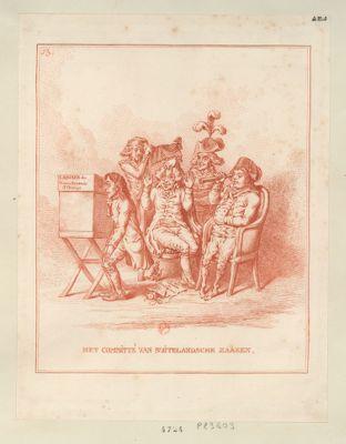 Het Committé van buitelandsche zaaken [estampe]