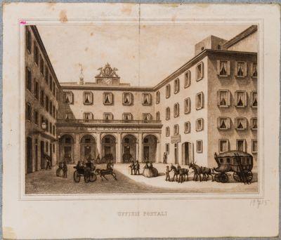 Uffizi Postali, Palazzo Madama