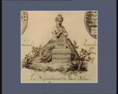 La  Loi, République française [estampe]