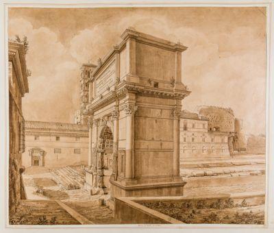 Arco di Tito e Chiesa di S. Francesca Romana