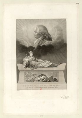 C.G. Lamoignon de Malesherbes né à Paris [estampe]